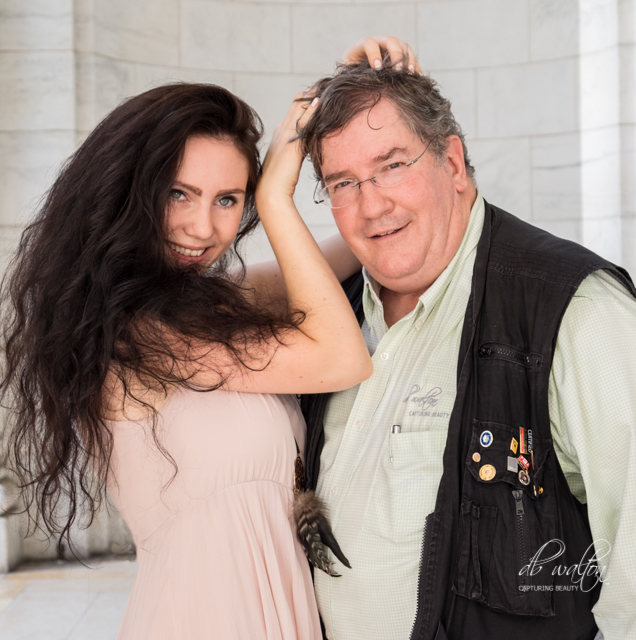 Model Tania with D. Brent Walton, CPP, Cr.Photog.